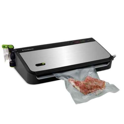 FoodSaver FM2435-ECR Vacuum Sealing System with Bonus Handheld Sealer and Starter