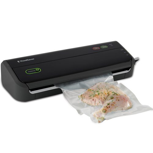 FoodSaver FM2000-FFP Vacuum Sealing System with Starter Bag/Roll Set