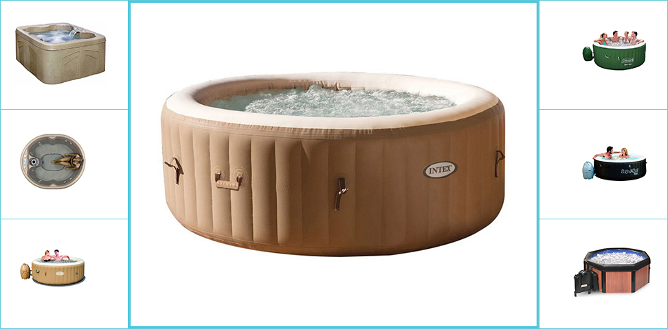 Top 10 Best Portable Hot Tubs in 2018 Reviews