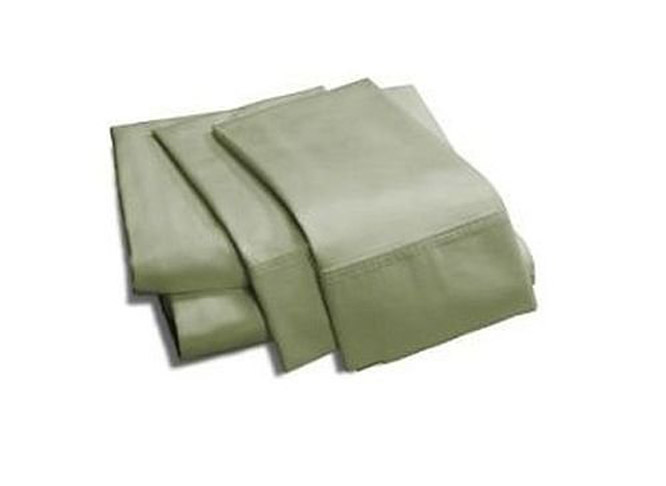 8. Royal Tradition King Green Bamboo Sheet Set