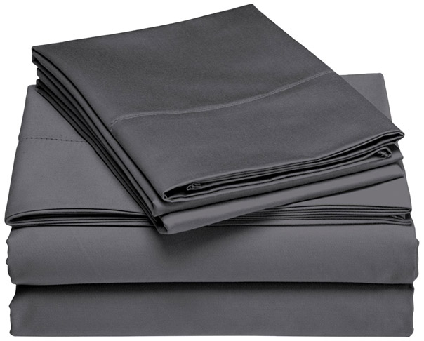 9. Brielle Queen Titanium Bamboo Sheet Set