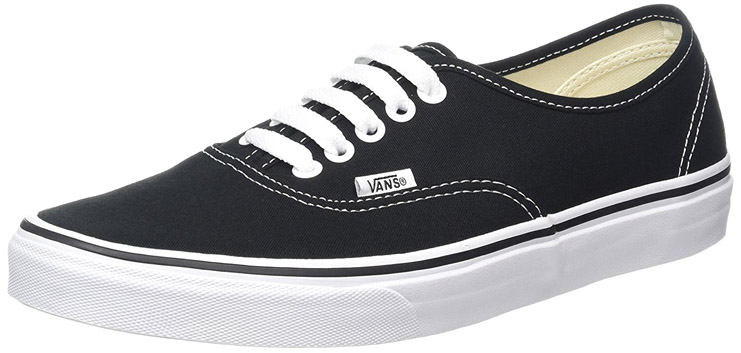 Vans Shoes Black And White How Much