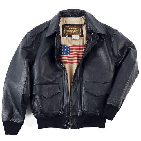 1. Landing Leather Men's Bomber Jacket