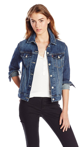 2. Levis Women Trucker Jacket -