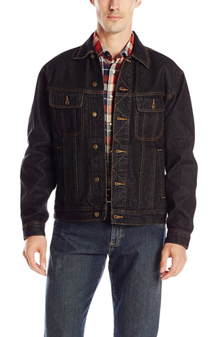 3. Wrangler Men's Big & Tall Denim Jacket -