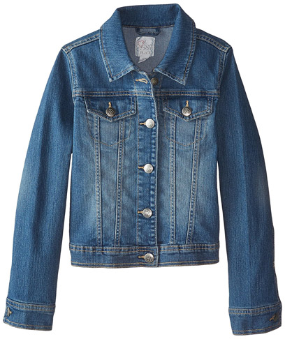 8. Children's Place Girls' Denim Jacket -